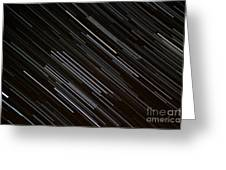 Star Trails At The Equator Greeting Card by Stephen Whisman