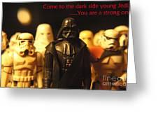 Star Wars Gang 4 Greeting Card by Micah May