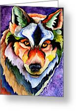 Stare Down Greeting Card by Sherry Shipley