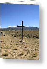 Stations Of The Cross  Greeting Card by Ann Powell