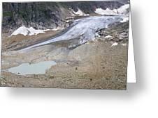 Stein Glacier, Switzerland Greeting Card by Dr Juerg Alean