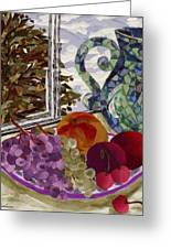 Still Life Greeting Card by Marina Gershman