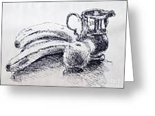 Still Life Greeting Card by Rod Ismay