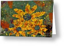 Stimuli Floral - S04ct01 Greeting Card by Variance Collections