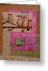 Stock Up Big Greeting Card by Adam Kissel