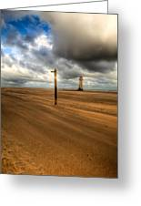 Storm Brewing Greeting Card by Adrian Evans
