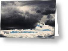 Storm Clouds-1 Greeting Card by TODD SHERLOCK