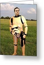 Stormtrooper Mitt Romney Greeting Card by Paul Van Scott