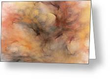 Stormy Greeting Card by David Lane