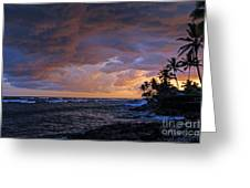 Stormy Weather Greeting Card by Clark Thompson