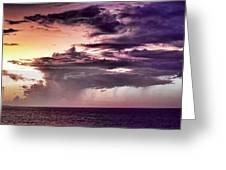 Stormy Weather Greeting Card by Douglas Barnard