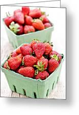 Strawberries Greeting Card by Elena Elisseeva