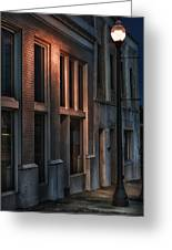 Street Light Greeting Card by Brenda Bryant