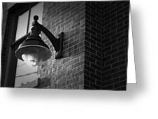 Streetlamp Greeting Card by Eric Gendron