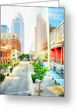 Street's Of Louisville Greeting Card by Darren Fisher