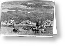 St.thomas, 1868 Greeting Card by Granger