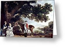 Stubbs Pocklington 1769 Greeting Card by Granger