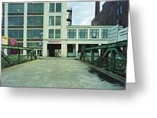 Studios For Rent Greeting Card by Jan Faul