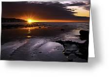 Stunning Sunrise Greeting Card by Svetlana Sewell
