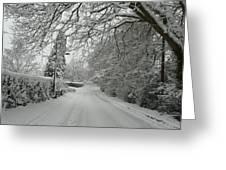 Sugar Road II Greeting Card by Rdr Creative