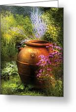 Summer - Landscape - The Urn Greeting Card by Mike Savad