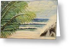 Summer Breeze Greeting Card by Maria Medina