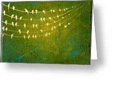 Summer Song Greeting Card by Lisa Stevens