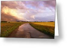 Summer Storm Raf Lavenham Greeting Card by Jan W Faul