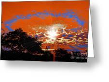 Sunburst Greeting Card by RJ Aguilar