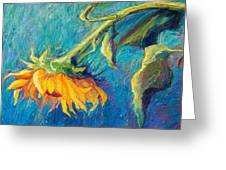 Sunflower Greeting Card by Candy Mayer