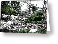Sunken Gardens Collection I Greeting Card by Diana Gonzalez