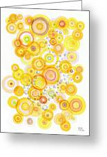 Sunlight Ripples Greeting Card by Regina Valluzzi