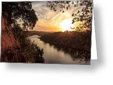 Sunrise Over Fair Oaks Greeting Card by Randy Wehner Photography