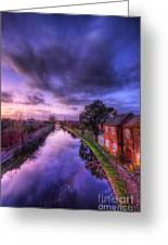 Sunset At Loughborough Greeting Card by Yhun Suarez