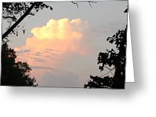 Sunset Clouds Greeting Card by James Collier
