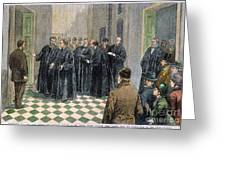 Supreme Court, 1881 Greeting Card by Granger