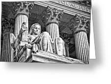 Supreme Court Building 15 Greeting Card by Val Black Russian Tourchin