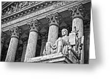Supreme Court Building 19 Greeting Card by Val Black Russian Tourchin