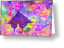 Swallowtail Greeting Card by Judi Bagwell
