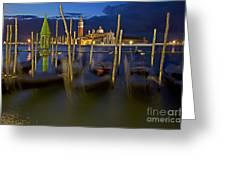 Swaying Gondolas Greeting Card by Heiko Koehrer-Wagner