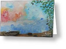Sweet Dreams Greeting Card by Barbara McNeil