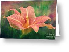 Sweet Lilith Greeting Card by Angela Doelling AD DESIGN Photo and PhotoArt