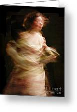 Swirling Greeting Card by Margie Hurwich