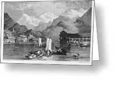 Switzerland: Interlachen Greeting Card by Granger