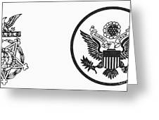 Symbols: U.s. Army Greeting Card by Granger