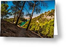 Symphony Of Nature. El Chorro. Spain Greeting Card by Jenny Rainbow