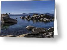 Tahoe Clarity Greeting Card by Brad Scott