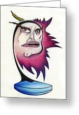 Tattered Soul Greeting Card by Steve Weber
