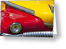 Taxi De Soto Greeting Card by Garry Gay
