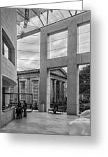 Telfair's Jepson Center Lobby Greeting Card by Lynn Palmer